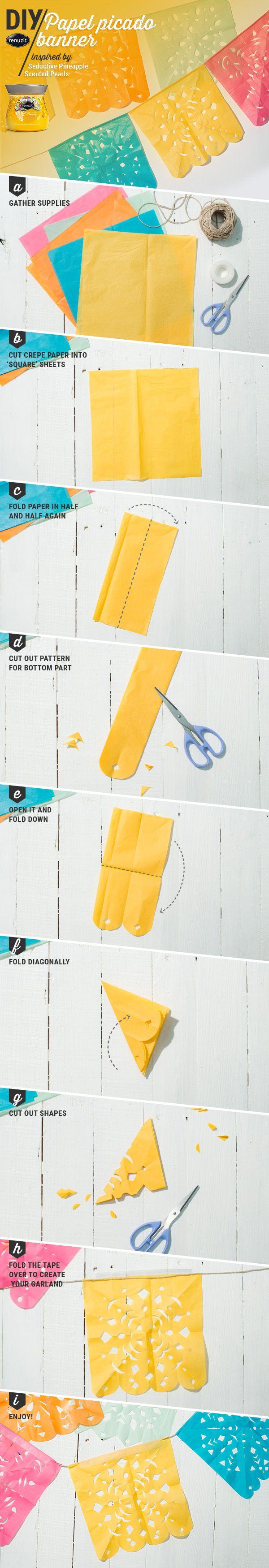 Hacerlo con manteles de plastico