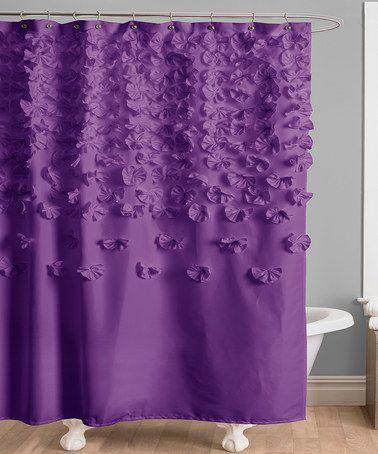 Purple Lucy Shower Curtain45 best Purple Shower Curtain images on Pinterest   Bathroom ideas  . Grey And Purple Shower Curtain. Home Design Ideas