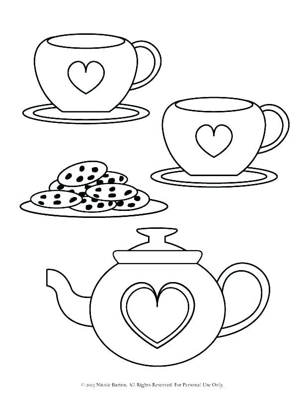- Tea Party Coloring Page Tea Party Coloring Pages Preschool Tea Party  Coloring Page Colorin… Free Printable Coloring Pages, Coloring Pages To  Print, Coloring Pages
