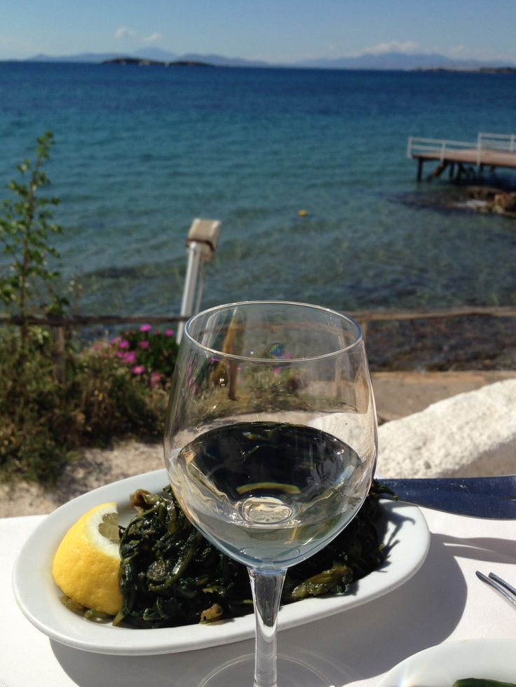 #kavouri #athens #greece #wine #sea #fish #lunch