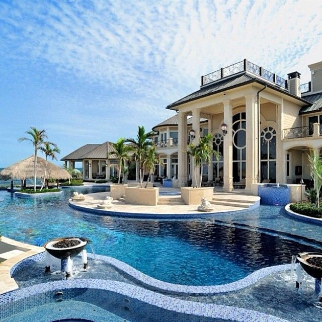 Most Expensive Fancy Houses In The World | Strandhausdekor ... on Dream House Backyard id=32279