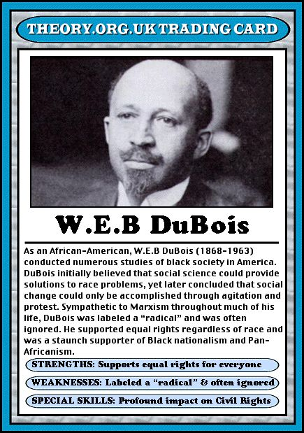 W.E.B DuBois started the NAACP movement. He fought for black rights and he thought that black people should demand equal rights. This had a positive effect on American society because he helped blacks gain confidence as well as organized movements like the Niagra Movement.