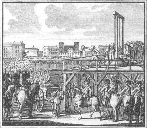 Lodewijk XVI is onthoofd op het Place de la Révolution, tegenwoordig het Place de la Concorde, in 1793. Dit kwam omdat er te veel kritiek tegen hem was. De derde stand moest hele hoge belastingen betalen, en daardoor kregen ze het heel moeilijk. Ze verdienden namelijk al heel weinig geld. Hij beëindigde het absolutisme.