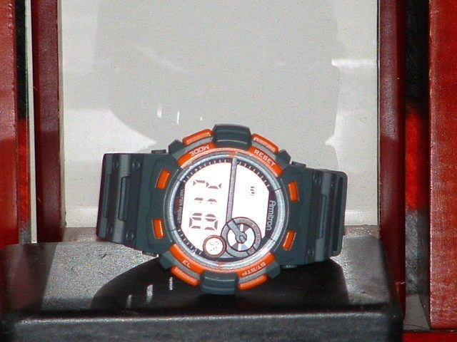 Pre-Owned Men's Armitron Grey & Orange 40/8320 Digital Sports Watch #Armitron #Sport