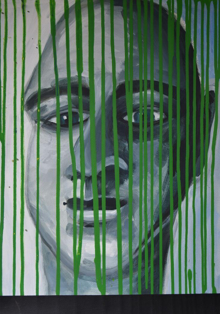 Acryl op papier (50 x 70)