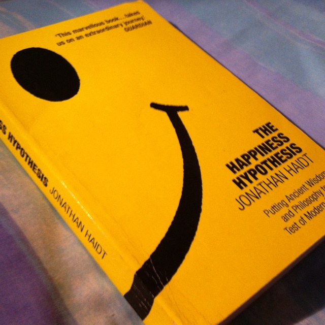 The Happiness Hypothesis - Jonathan Haidt.