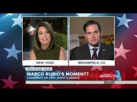 Marco Rubio: I still have 'tremendous admiration' for Jeb Bush