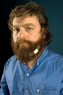 zach galifianakis - you never think about how nice his face really is. i like it.