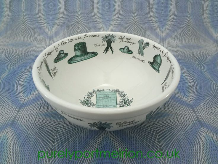 Portmeirion Victorian Cooks 9 Inch Salad/Mixing Bowl