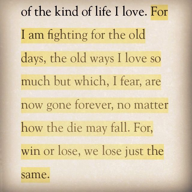 Ashley Wilkes quote -  Gone With The Wind