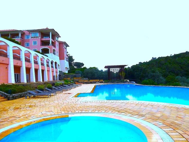 Dec 17, 2012. Enjoying the beautiful setting in the midst of nature of the Ritz Carlton Penha Longa