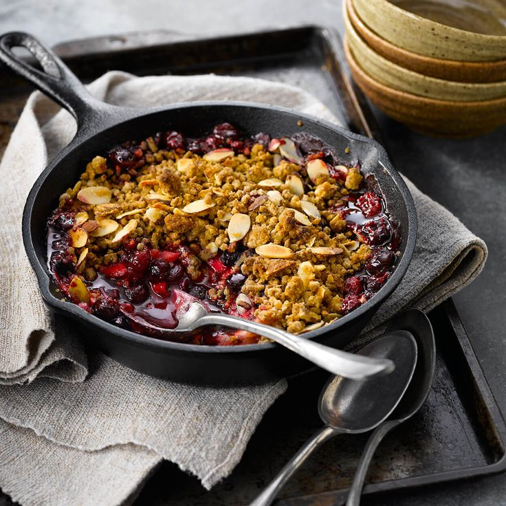 ... - Breakfast on Pinterest | Granola, Bacon and Apple cranberry crisp