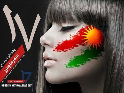 kurdistan flag day