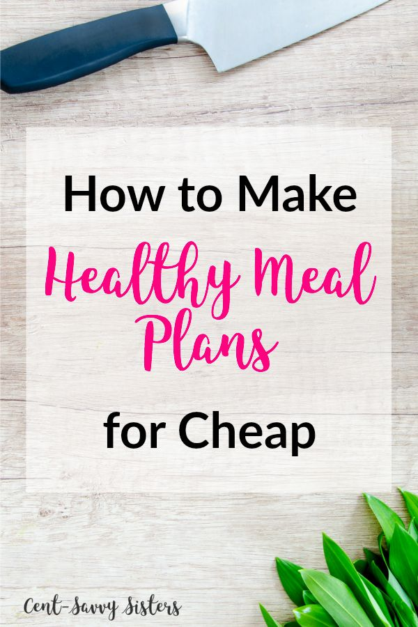 Meal Planning for Cheap. These tips are awesome to learn how to meal plan. They even have a free meal planning printable!