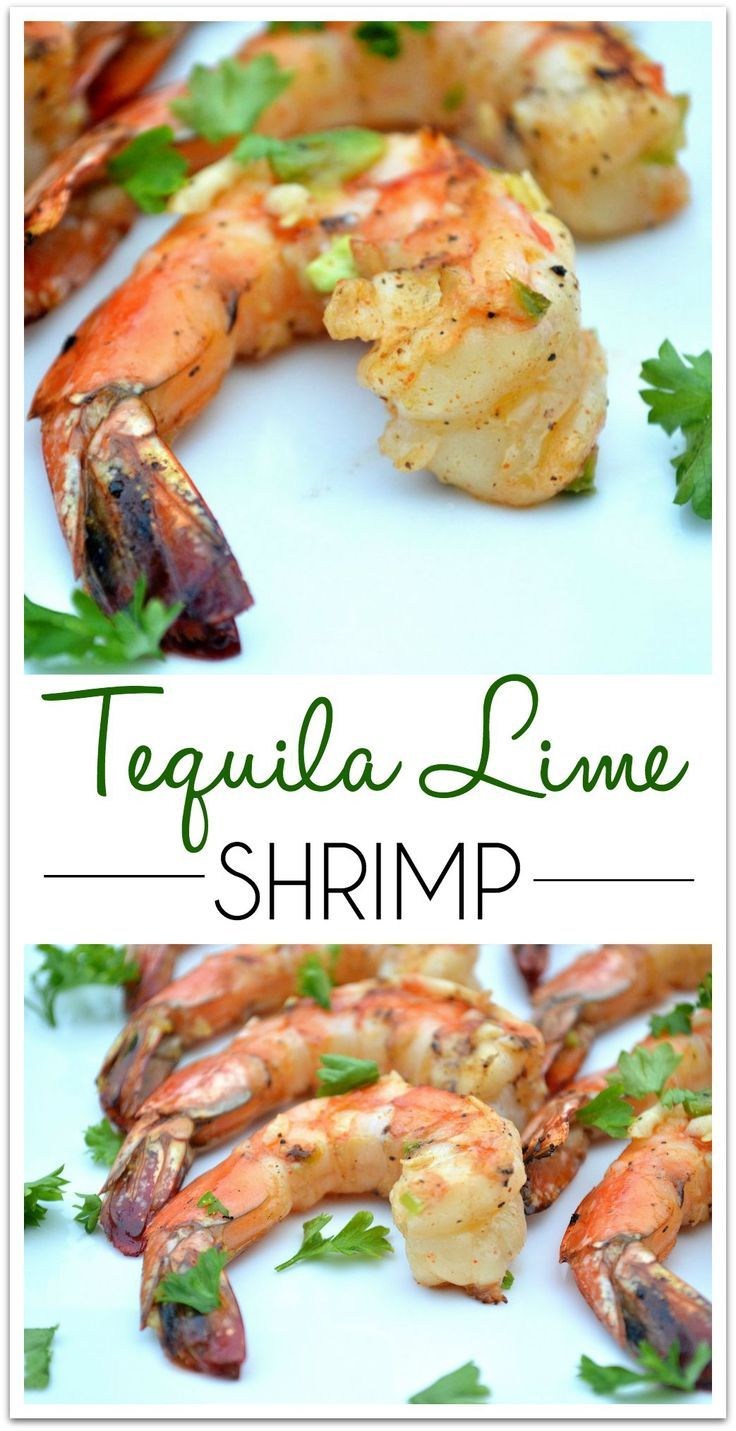 Grilled Tequila Lime Shrimp | 30 Minute Meals | Easy Weeknight Dinner Recipe | Get the recipe at jolynneshane.com.