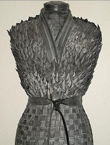 torso van fietsbanden... I'd wear this for a Harry Potter party