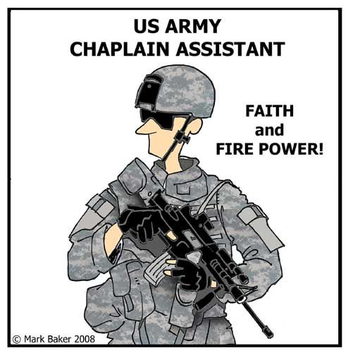 My Soldier was nominated for Chaplain Assistant of the