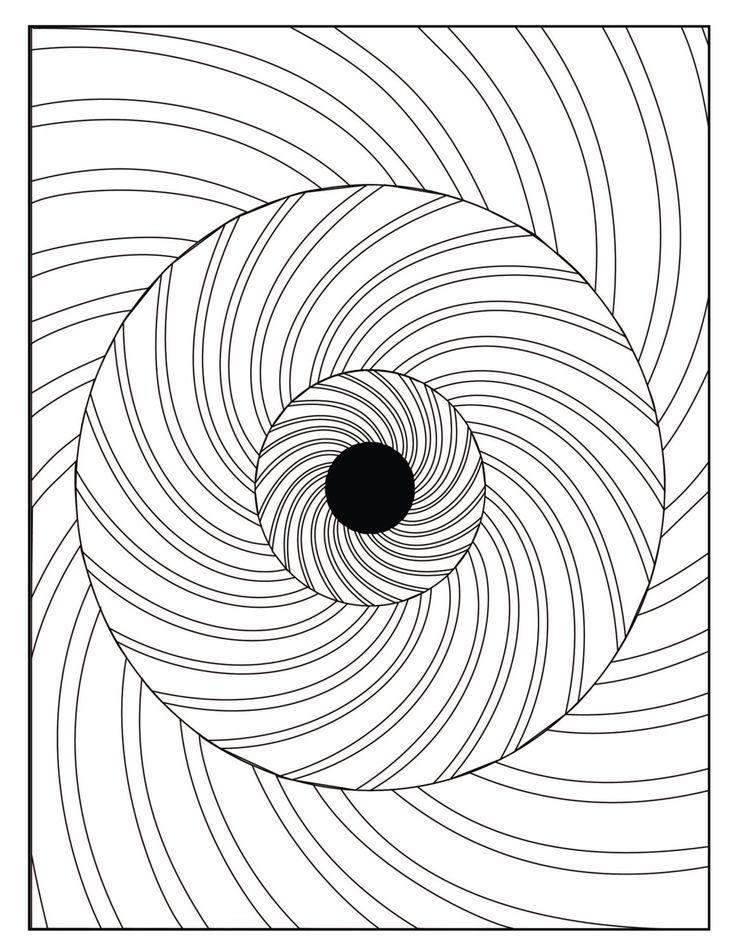 hard illusion coloring pages - photo#2