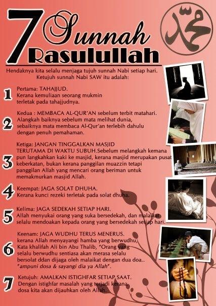 7 Sunnah Rasul
