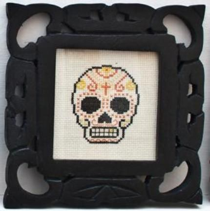 Skull cross stitch: Crafty Dafti, Stitches Crafty, Start Crosses Stitches, Sugar Skull, Crosses Stitches Jenna, Skull Crosses, Cross Stitches, Diy Crafty, Skull Stitches