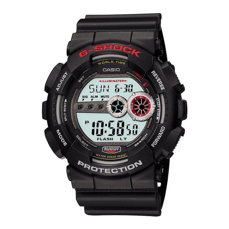เสนอสินค้า<SP>Casio G-Shock นาฬิกาข้อมือ รุ่น GD-100-1ADR++Casio G-Shock นาฬิกาข้อมือ รุ่น GD-100-1ADR (5 รีวิว) กระจกมิเนอรัล ทนทานต่อแรงสั่นสะเทือน กันน้ำลึก 200 เมตร ให้แสงสว่างพื้นหลังทั้งหน้าปัดแสงระเรื่อ ระบบจับเวลาเดินหน้า ถอยหลัง 2,459 บาท -51% 4,999  ...++
