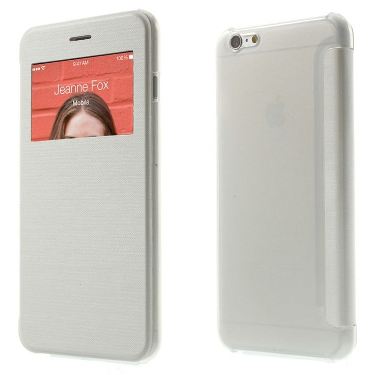 Etui Folio iPhone 6 Plus - Blanc