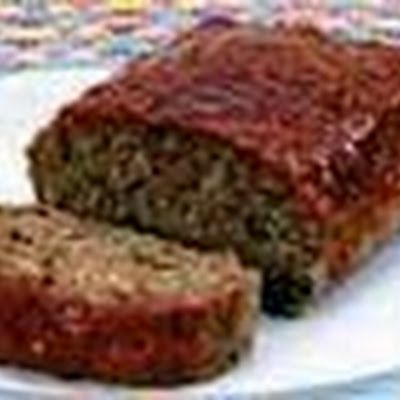 Lipton Souperior Meat Loaf (made with Onion Soup) Recipe - use homemade onion soup mix 1/4 recipe. Use less water. Extra ketchup