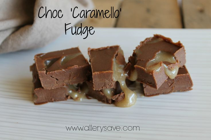 Choc Caramello Fudge!  Yes, as good as it looks. #Glutenfree  #Allergyfriendly #Nut Free  #DairyFree #EggFree  #SoyFree  #RefinedSugarFree, Free from preservatives & additives too