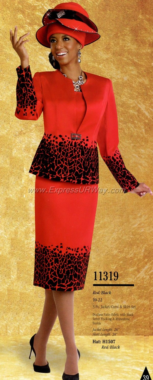 96f917380a6 Church Suits by Donna Vinci for Fall 2014 - www.expressurway.com ...