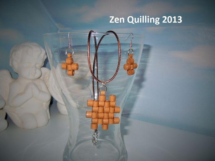 My creation - idea taken from the Internet - Facebook.com / Zen Quilling