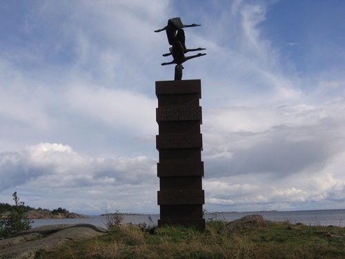 Finnish Immigrant Memorial, Hanko, Finland