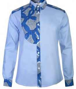 ♥African Fashion: MENS ASANTE HALF BIB