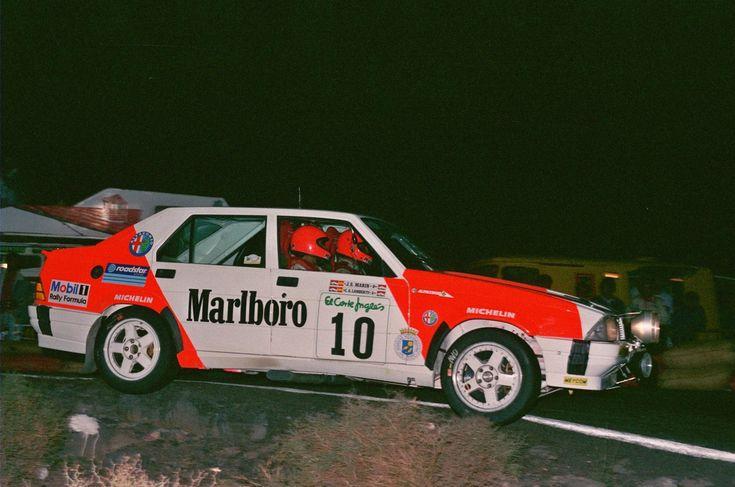 Carlos Alonso Lamberti Alfa Romeo 75 V6 gr.A