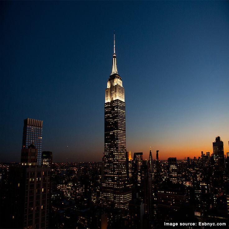 The Empire State Building is currently the third tallest building in the United States.