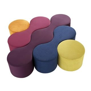 Seltz Peanut Modular Seating - Contract Furniture Products - Design & Contract Furniture