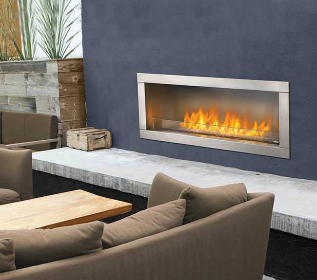 Napoleon Galaxy Outdoor Gas Fireplace