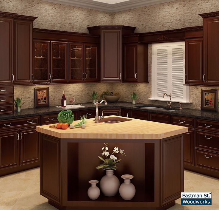 Order Custom Kitchen Cabinets Online: Love These Kitchen Cabinets From Eastman St. Woodworks Of