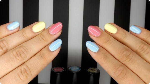 Blog urodowo-kosmetyczny LadyAggu: HYBRYDY: lizaki pudrowe   Semilac