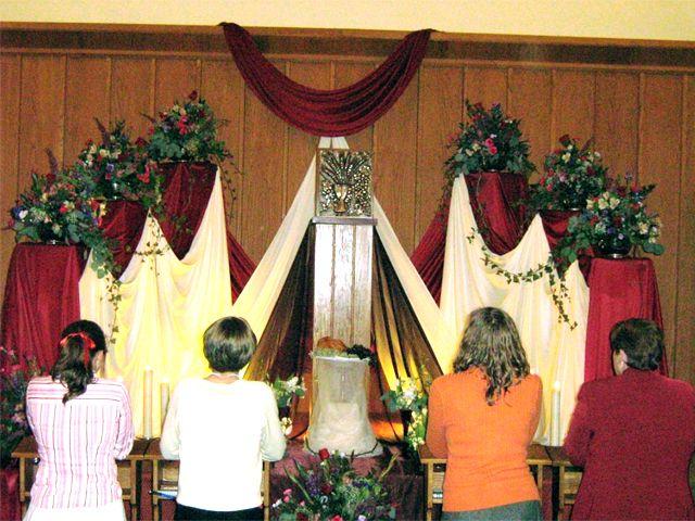 Resultado de imagen para wood altar of repose