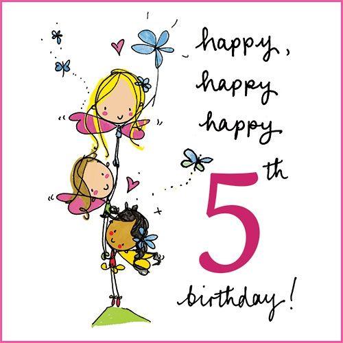 Happy, Happy, Happy 5th Birthday!