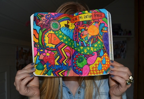 Color The Entire Page Lots Of Wreck This Journal