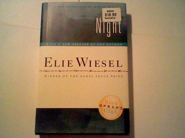 Night by Elie Wiesel (2006, Hardcover) WW2, Auschwitz =0