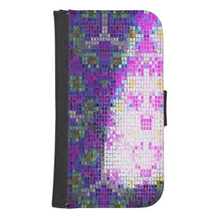 Strange Tiles pattern Phone Wallet
