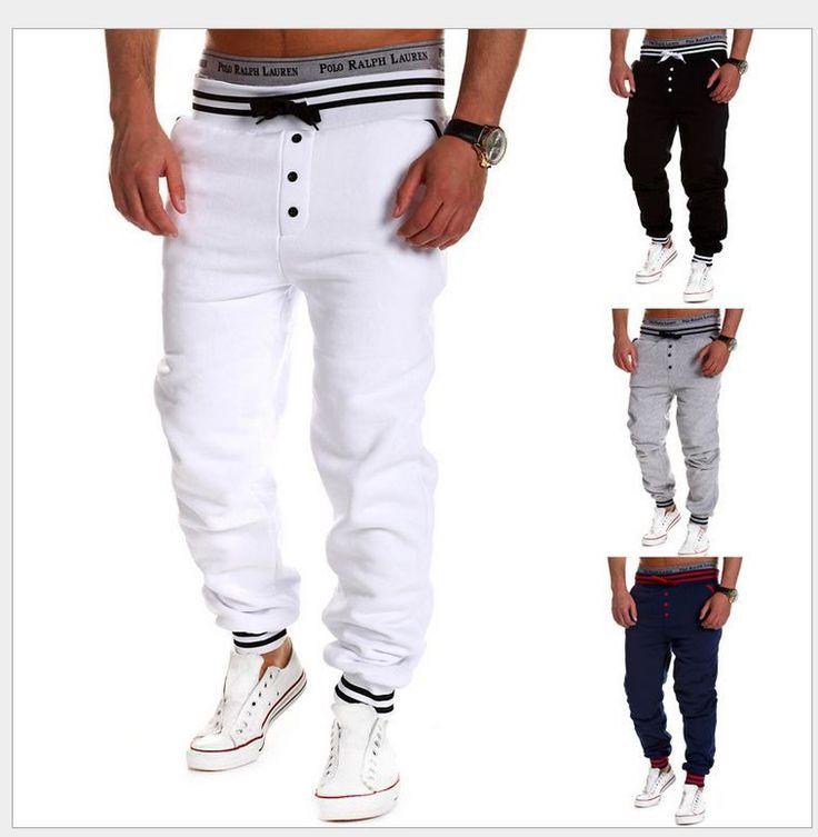 Uget Men Fashion Baggy Jogger Dance Sport Sweatpants Harem Pants Slacks Trousers #NEW #SXXL