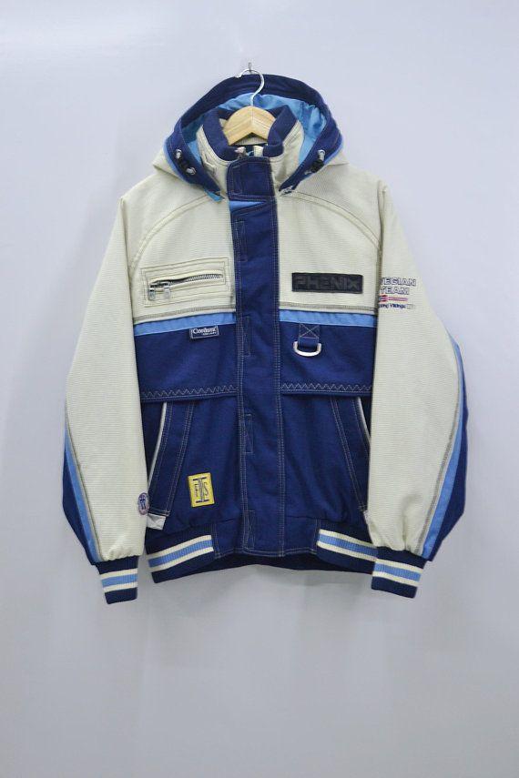 1e2345bdd5 Norway Windbreaker Men Size Jaspo M Vintage Phenix Norwegian Ski Team Jacket  90 s Phenix Cordura Gear Made in Japan Winter Ski Wear
