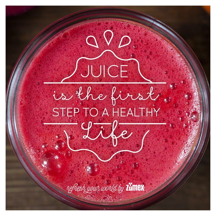 Juice is the first step to a healthy life and your first step every morning! #Zumex #juicers #refreshyourworld #juice