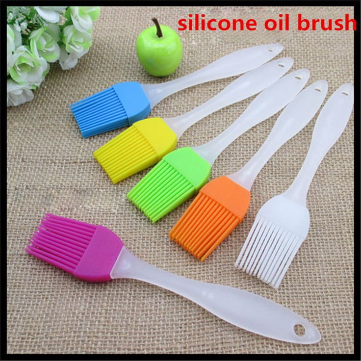 C$ 0.94 Cheap brushed stainless steel letters, Buy Quality brush baby teether brush directly from China brush kabuki Suppliers:             Fashion New 1Pcs Home Kitchen Cooking Tool Silicone Oil Brush BBQ Basting Brushes Free Shipping   Feature: 1