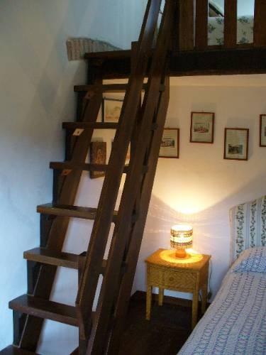 Attic loft loft and loft stairs on pinterest for Simple attic design