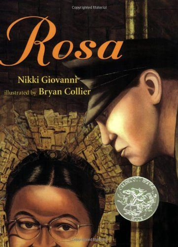 Rosa by Nikki Giovanni  {Children's picture book about Rosa Parks}