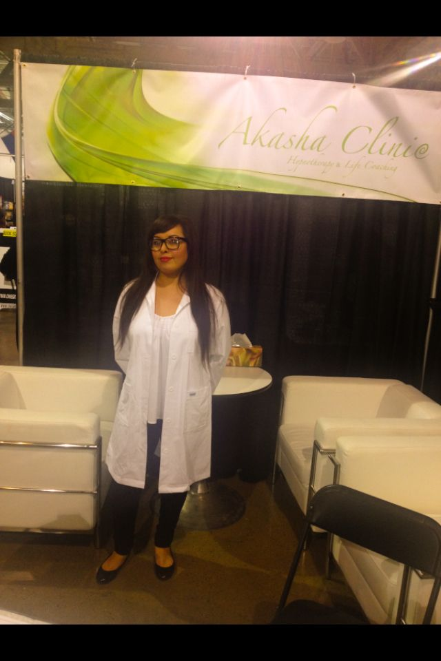 Exhibiting my business at the Edmonton Body, Soul & Spirit Expo 2013